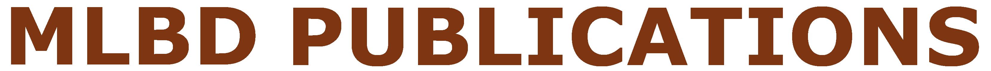 MLBD Publications